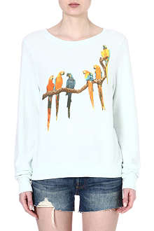 WILDFOX Birds in paradise sweatshirt
