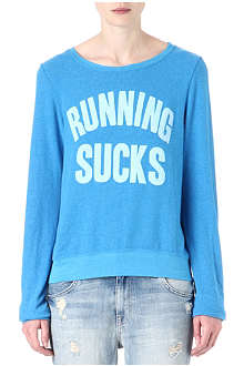 WILDFOX Running Sucks sweatshirt