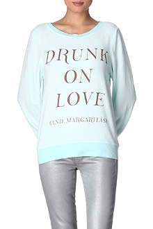 WILDFOX Drunk on Love jumper