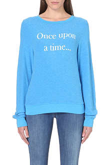 WILDFOX Once Upon a Time jersey sweatshirt