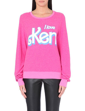 WILDFOX I Love Ken jersey sweatshirt
