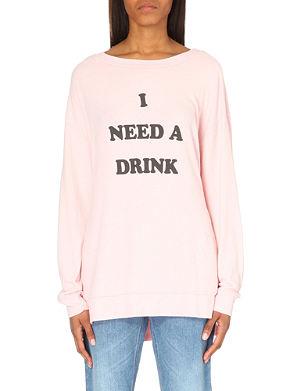 WILDFOX I Need a Drink sweatshirt