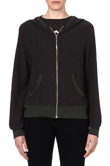 WILDFOX Malibu zip-up hoody