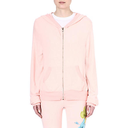 WILDFOX Malibu rainbow hoody (Peaches