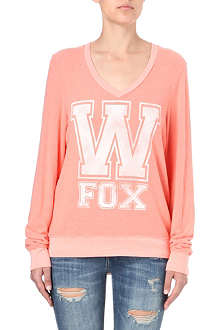 WILDFOX V-neck jumper