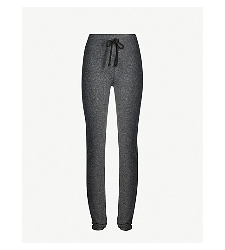 WILDFOX malibu skinny jogging bottoms (Clean+black