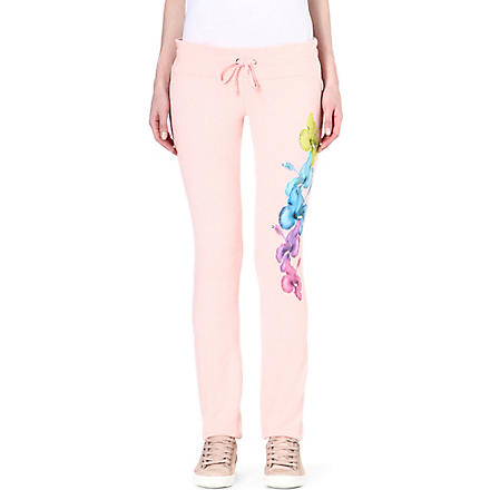 WILDFOX Malibu rainbow jogging bottoms (Peaches