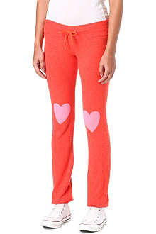 WILDFOX Happy heart jogging bottoms