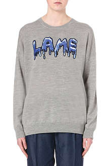 MARKUS LUPFER Laura Lame sequin jumper
