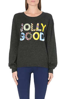 MARKUS LUPFER Jolly Good sequin-embellished jumper