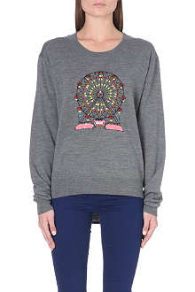 MARKUS LUPFER Ferris Wheel sequin-embellished jumper