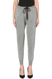 MARKUS LUPFER Lurex jogging bottoms