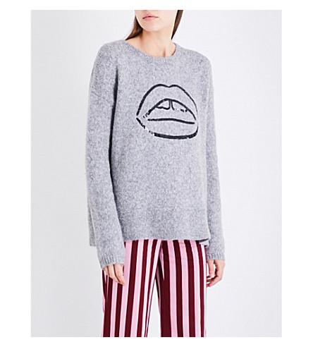 MARKUS LUPFER Frieda sequin-embellished alpaca-blend jumper (Ltg-