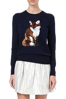 MARKUS LUPFER Fox sequin jumper