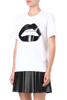 MARKUS LUPFER Rubber lips t-shirt
