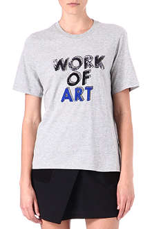 MARKUS LUPFER Work of Art sequinned t-shirt
