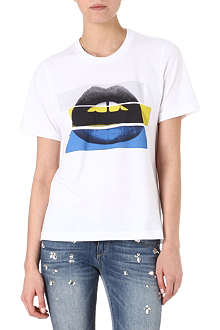 MARKUS LUPFER Lara colour-blocked t-shirt