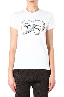 MARKUS LUPFER Pick me I pick you t-shirt