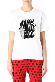 MARKUS LUPFER This is the girl t-shirt