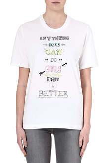 MARKUS LUPFER Anything boys can do t-shirt