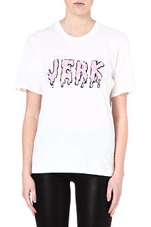 MARKUS LUPFER Jerk sequin t-shirt