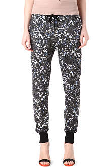 MARKUS LUPFER Sequin-print jogging trousers