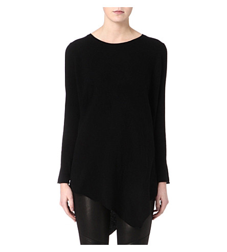 JOIE Tambrel wool-cashmere jumper (Caviar