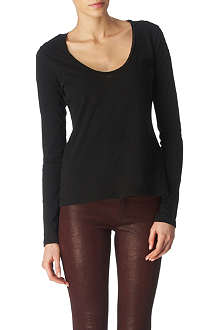 JAMES PERSE Scoop-neck top