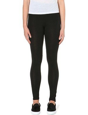 AMERICAN VINTAGE Stretch-jersey leggings