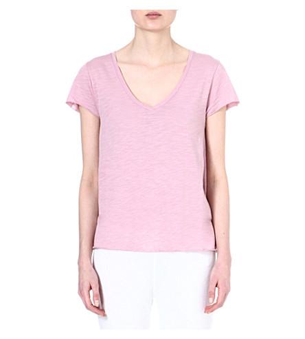 AMERICAN VINTAGE V-neck t-shirt (Wisteria