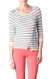 AMERICAN VINTAGE Striped knitted top