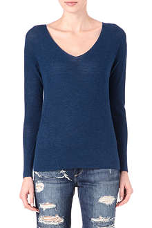 AMERICAN VINTAGE V-neck wool-blend jumper