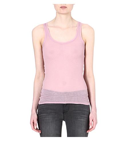 AMERICAN VINTAGE Cotton vest top (Wisteria