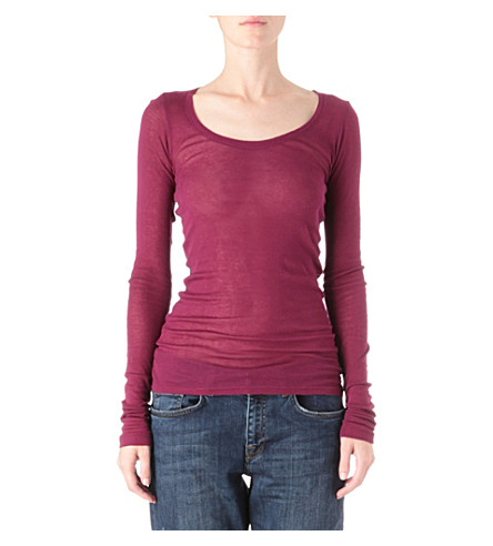 AMERICAN VINTAGE Massachusetts top (Plum