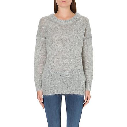 AMERICAN VINTAGE Long-sleeved knitted jumper (Hgrey