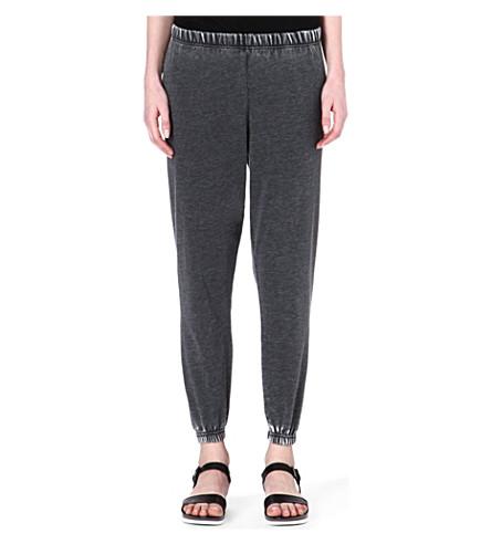 AMERICAN VINTAGE Jersey jogging bottoms (Carbon