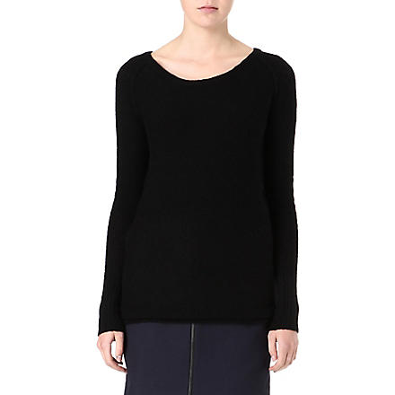AMERICAN VINTAGE Wool-blend jumper (Black
