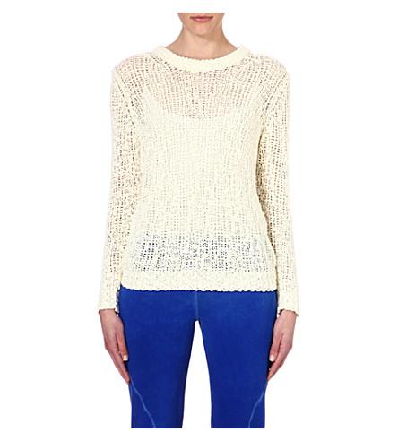 AMERICAN VINTAGE Sheer-knit jumper (Pearl