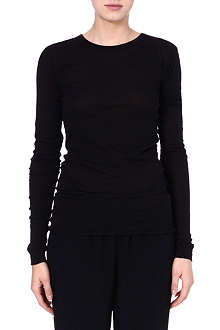 ENZA COSTA Long-sleeved jersey top