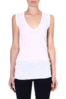 ENZA COSTA Sleeveless jersey top