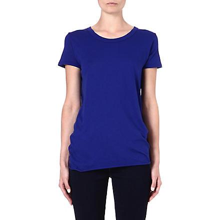 ENZA COSTA Cotton t-shirt (Baltic