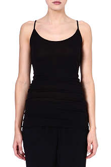 ENZA COSTA Sleeveless jersey vest top