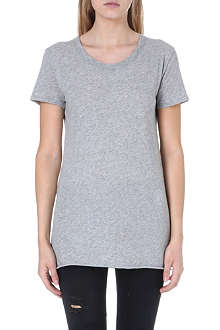 ENZA COSTA Short-sleeved cotton t-shirt
