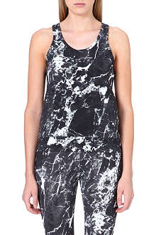 NORMA KAMALI Abstract-print vest