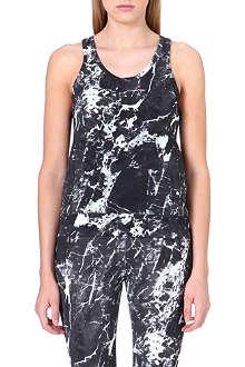 NORMA KAMALI Abstract-print vest