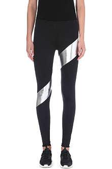 NORMA KAMALI Skinny micro-nylon leggings