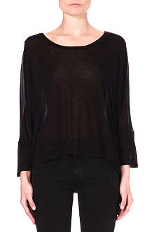 ENZA COSTA Oversized jersey top