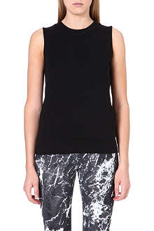 NORMA KAMALI Sleeveless sweat top