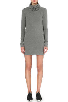 NORMA KAMALI Turtleneck jersey dress