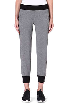 NORMA KAMALI Contrast jogging bottoms